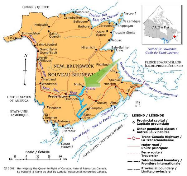 Grand Lake Properties For Sale New Brunswick