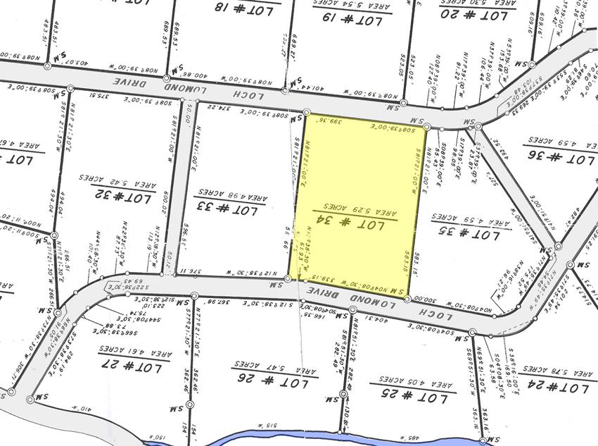 Lot  29 Acres In Size 2 14 Hectares All Measurements In Feet