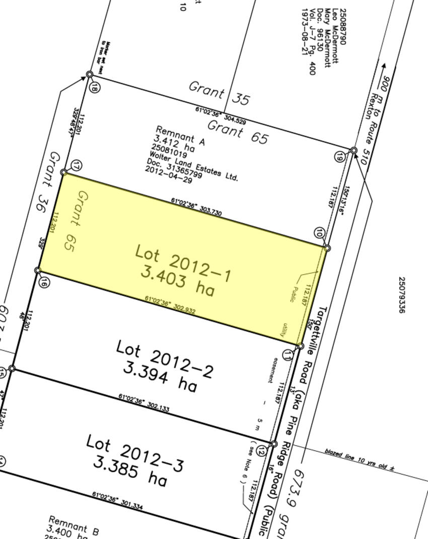 Measurement Of Land And Property : Canadian land for sale in ontario nova scotia and new