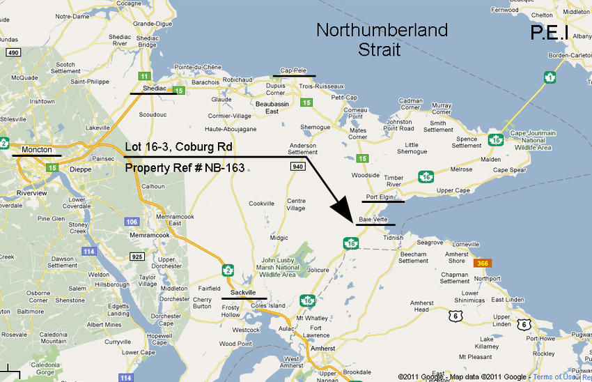 Canadian land for sale in ontario nova scotia and new brunswick here is a map gumiabroncs Image collections
