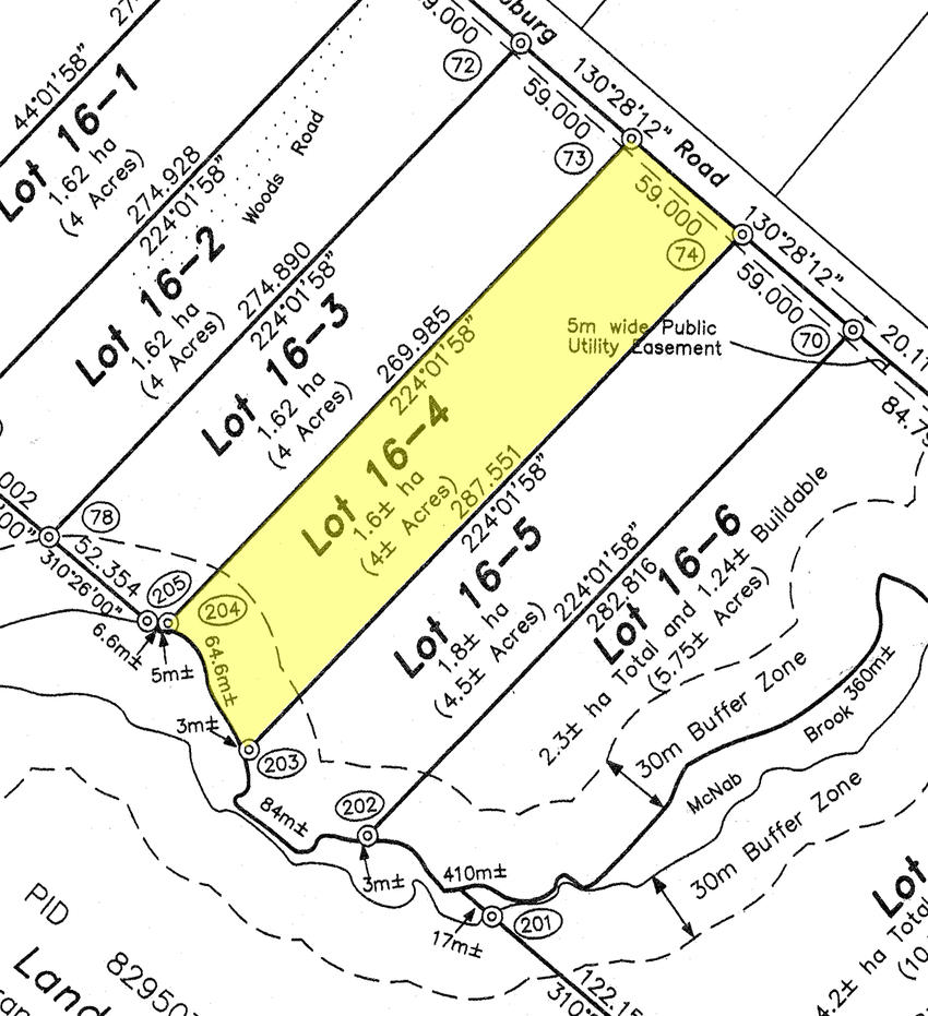 how to find land new brunswick land survey