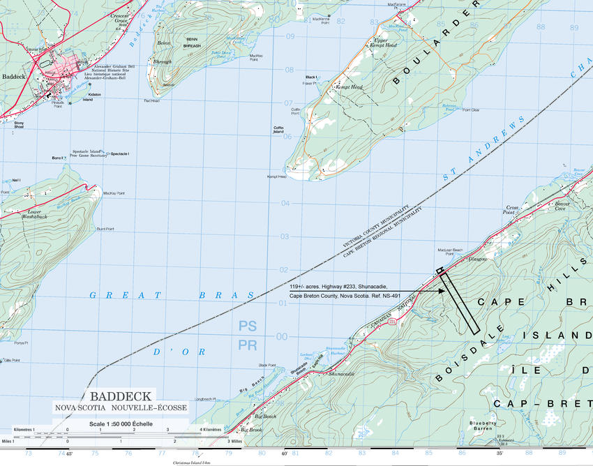 Canadian Land For Sale In Ontario Nova Scotia And New Brunswick - London elevation above sea level
