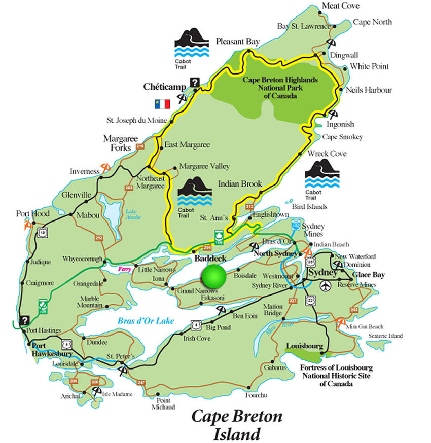 a map of cape
