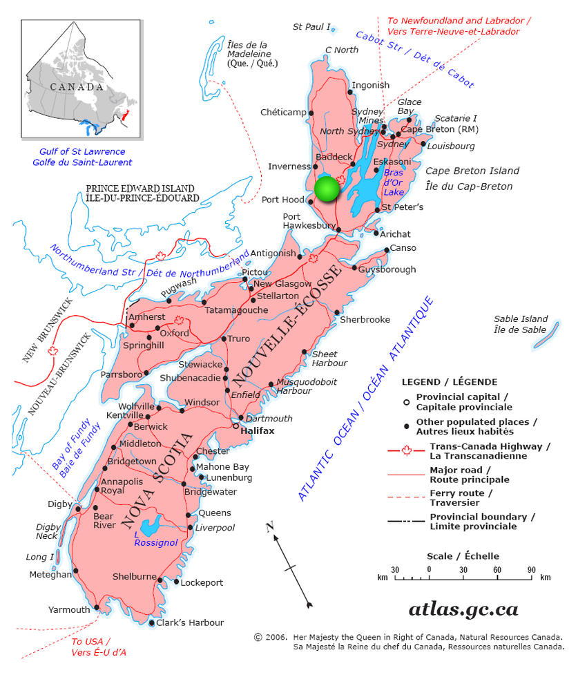 Canadian Land For Sale in Ontario, Nova Scotia, and New Brunswick on